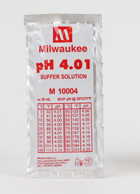 pH Buffer Solution 4: 20ml solution each (1)