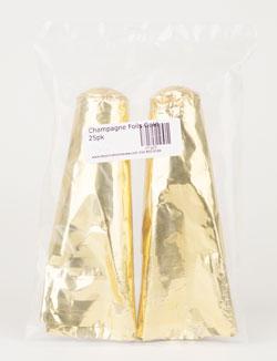 Champagne Foils Gold:25pk (1)