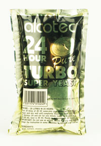 Alcotech 24 hr Turbo: Distillers Yeast (1)