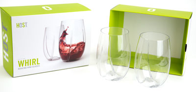 WHIRL Aerating:Wine Glass Set of 2 (1)
