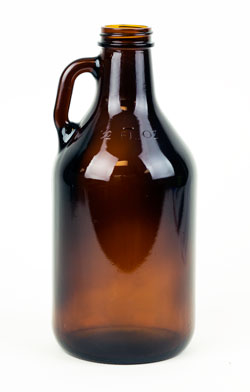 1/4 Gal bottle:Amber (12/case) (1)