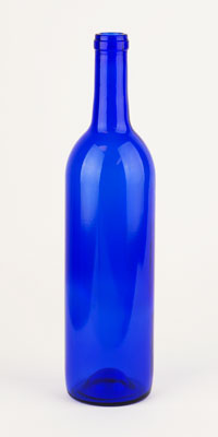 750 ml Blue Bord: Punted 12/case (1)