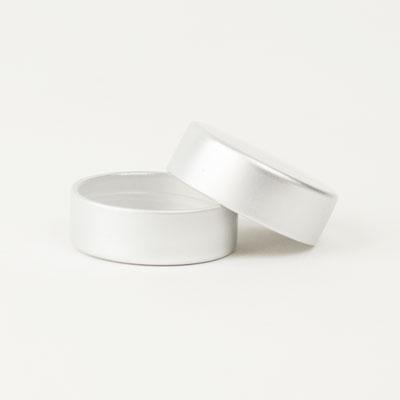 Metal Lids Kendo: screw cap each (1)