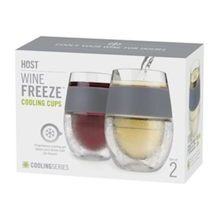 FREEZE Cooling:Plastic Wine Glasses (1)