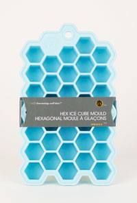 Hex Small Ice Cube:Tray (1)
