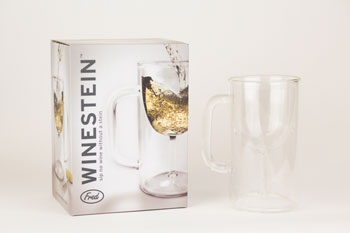 Winestein:Wine Glass Mug (1)