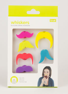 Mustache Drink: Markers Silicone (1)