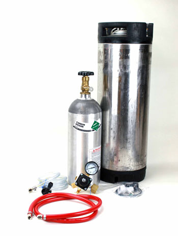 Complete Homebrew Kegging System, No Co2 Canister-0