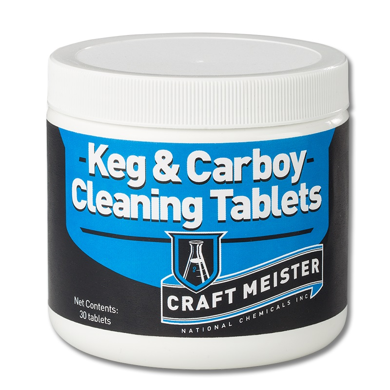 Craft Meister Keg &:Carboy Tabs 30ct (1)