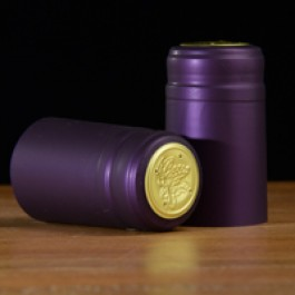 Heat Shrink Cap:Matte Purple (30) (1)