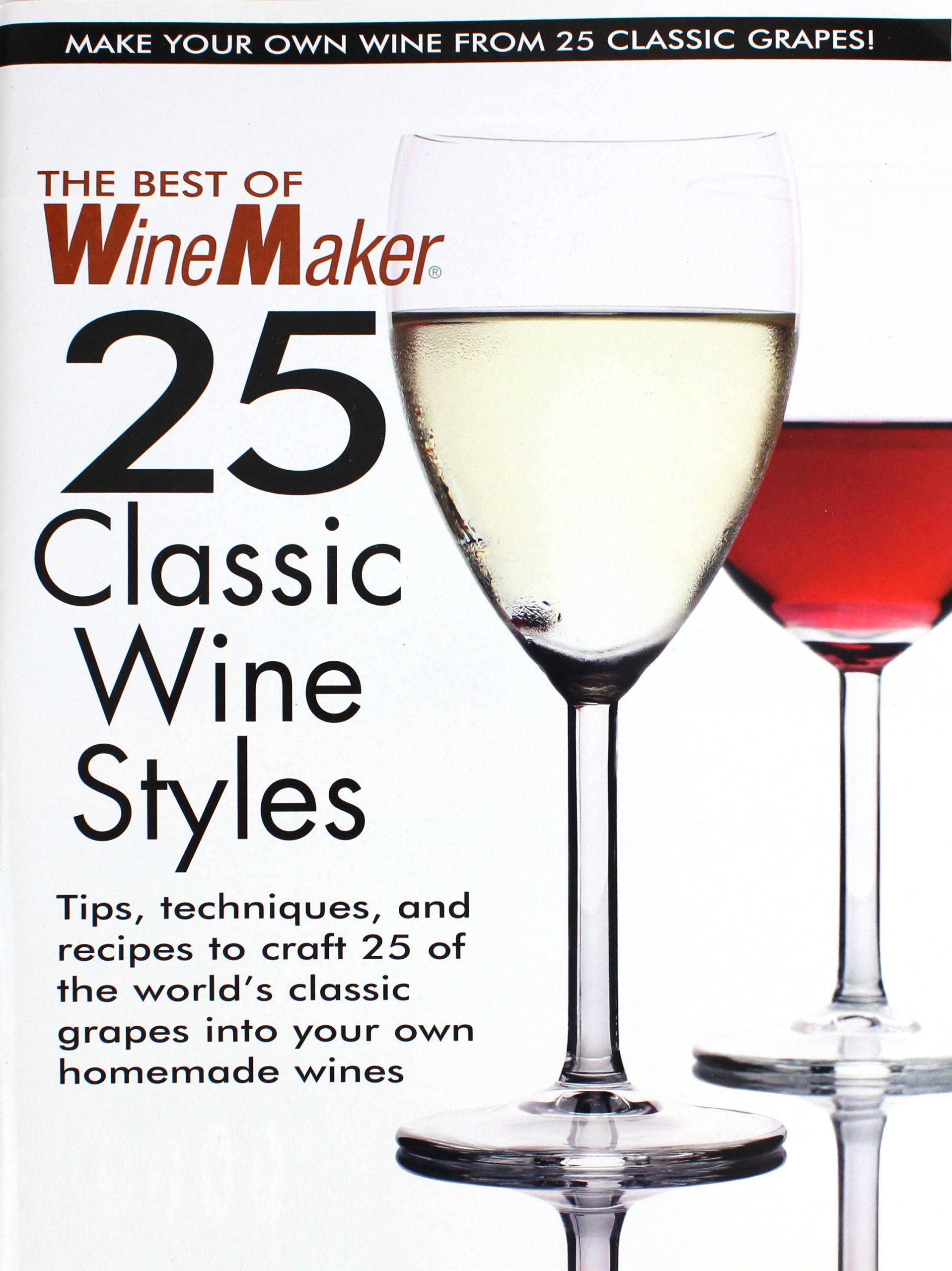Winemaker 25 Classic: Wine Styles (1)
