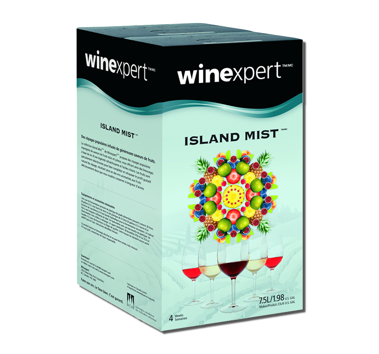 Island Mist Coconut: Yuzo Pinot Gris (1)