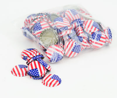 caps plain (144): AMERICAN FLAG (1)