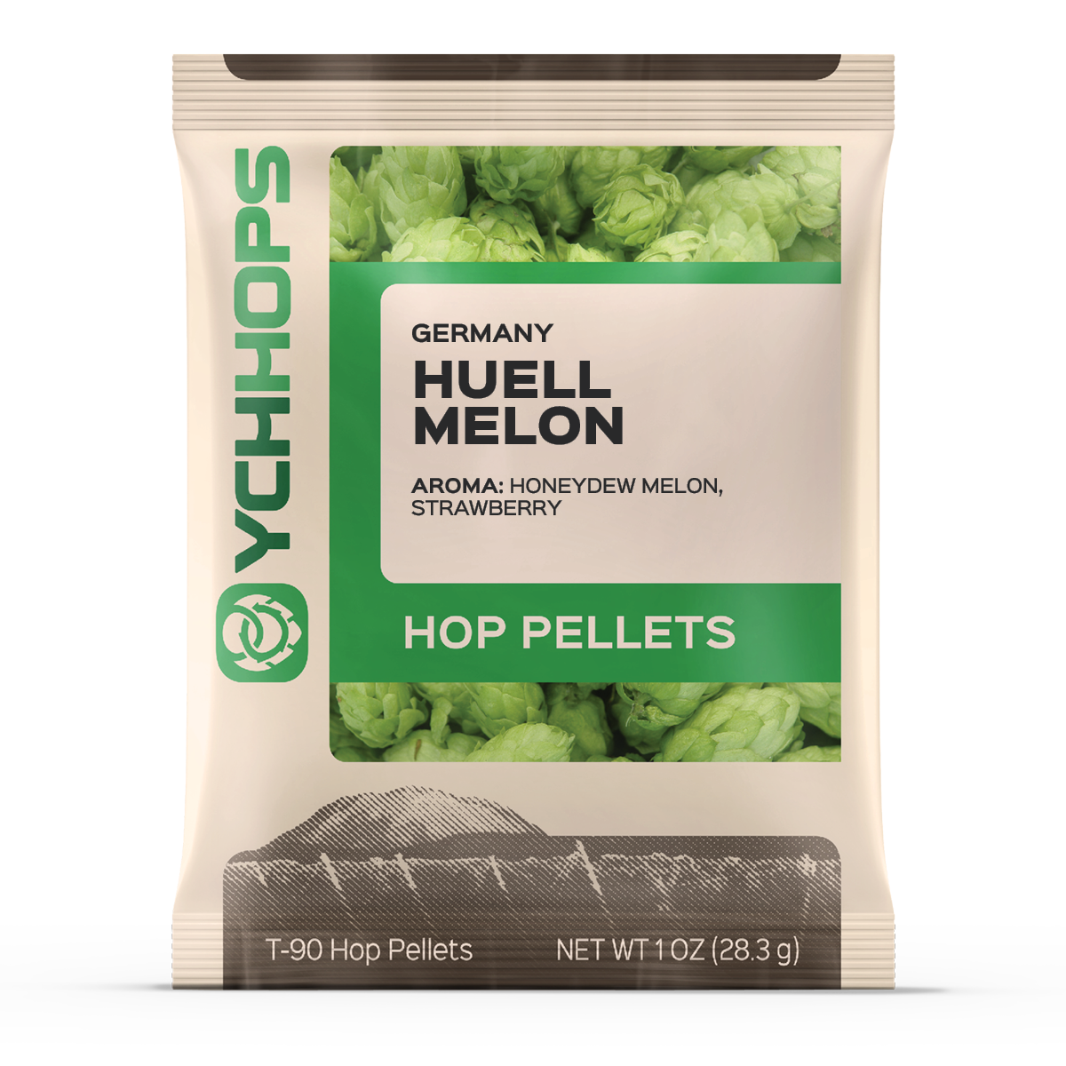German Huell Melon:1oz Pellets (1)