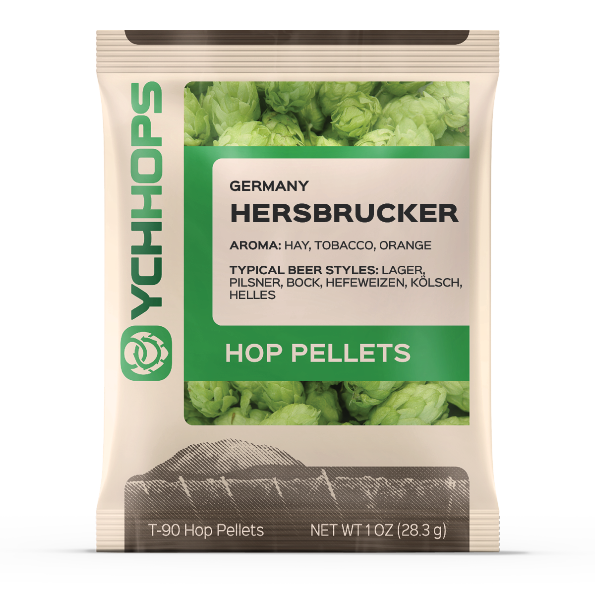 German Hersbrucker:1oz Pellet (1)