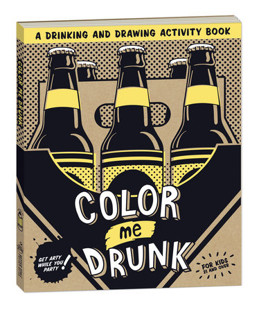 Color Me Drunk:Activity Book (1)