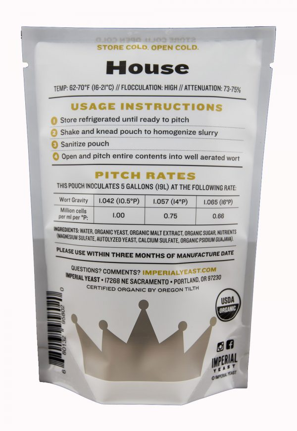 Imperial Beer Yeast, A01 House-126151