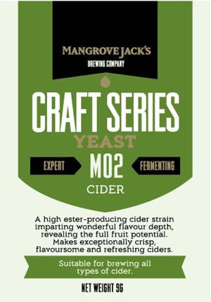 Mangrove Jack M02:Dried Cider Yeast (1)