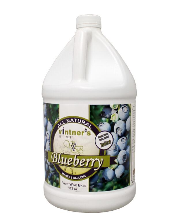 Vintner's Best Wine:Base Blueberry 128oz (1)