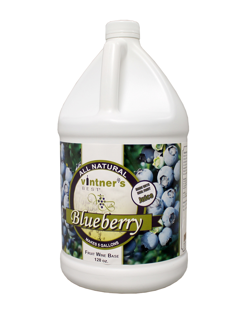Vintner's Best Wine:Base Blueberry 128oz (1)