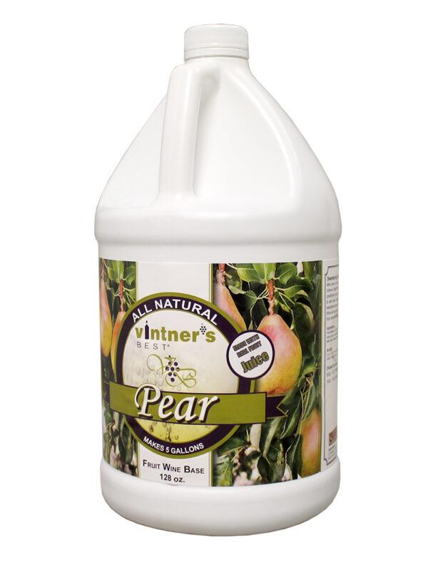 Vintner's Best Wine:Base Pear 128oz (1)