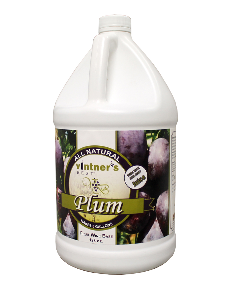 Vintner's Best Wine:Base Plum 128oz (1)