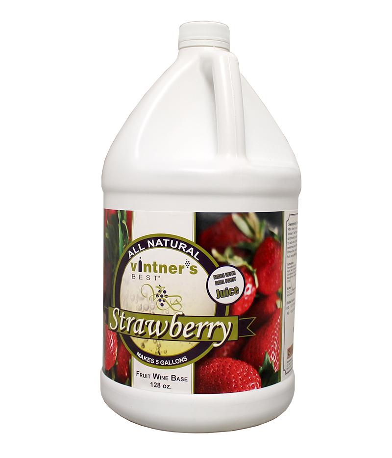 Vintner's Best Base:Strawberry 128oz (1)
