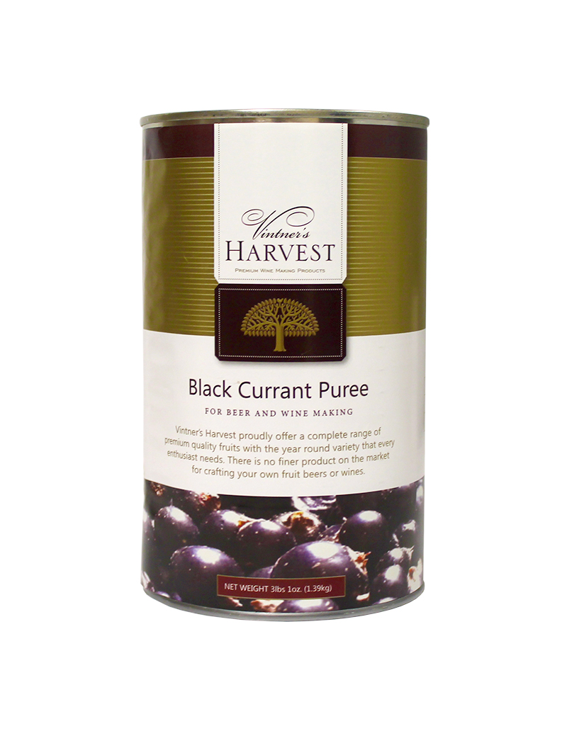 Black Currant:Fruit Puree 49oz (1)