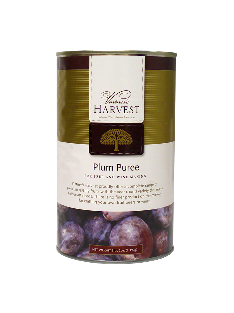Plum Fruit:Puree 49oz (1)