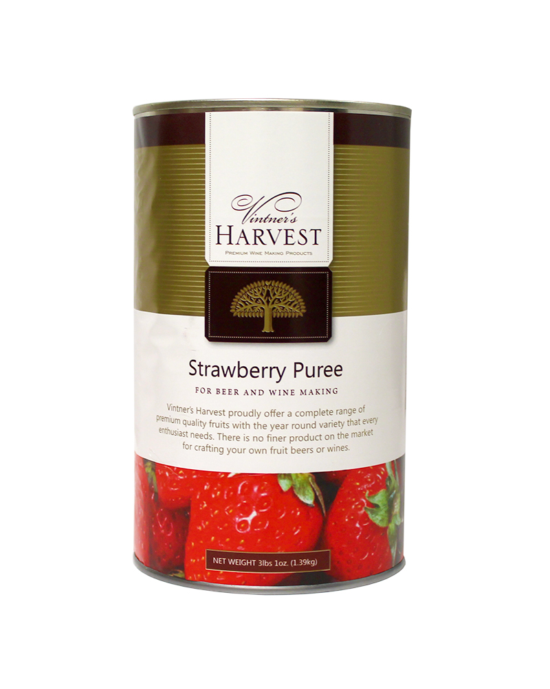 Strawberry:Fruit Puree 49oz (1)