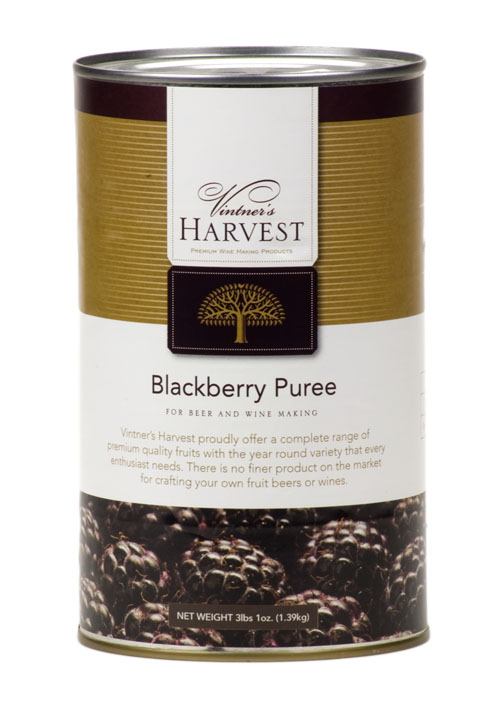 Blackberry Fruit:Puree 49oz. (1)