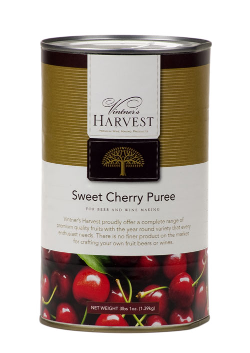 Sweet Cherry:Fruit Puree 49oz (1)