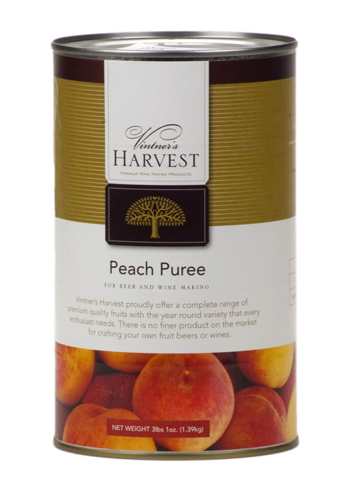 Peach Fruit:Puree 49oz (1)