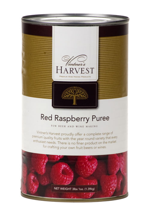 Raspberry Fruit:Puree 49oz (1)