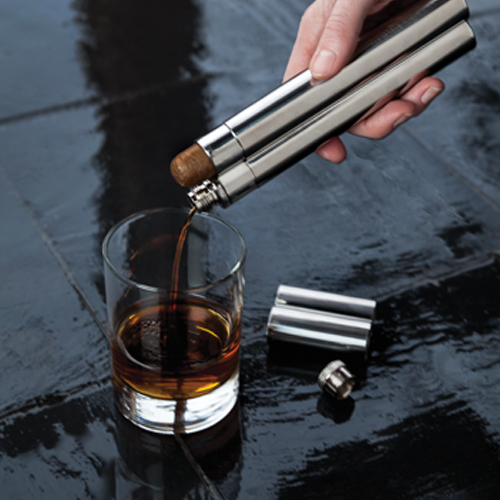 Harrison Cigar:Holder & Flask 2oz (1)
