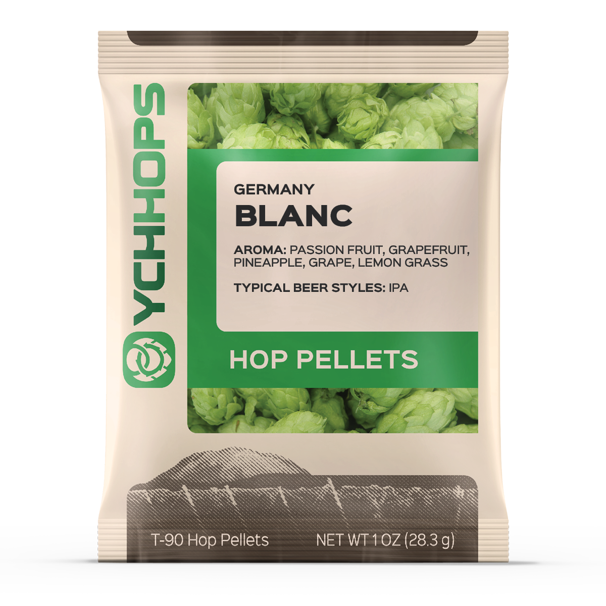 German Hallertau:Blanc 1oz Pellets (1)