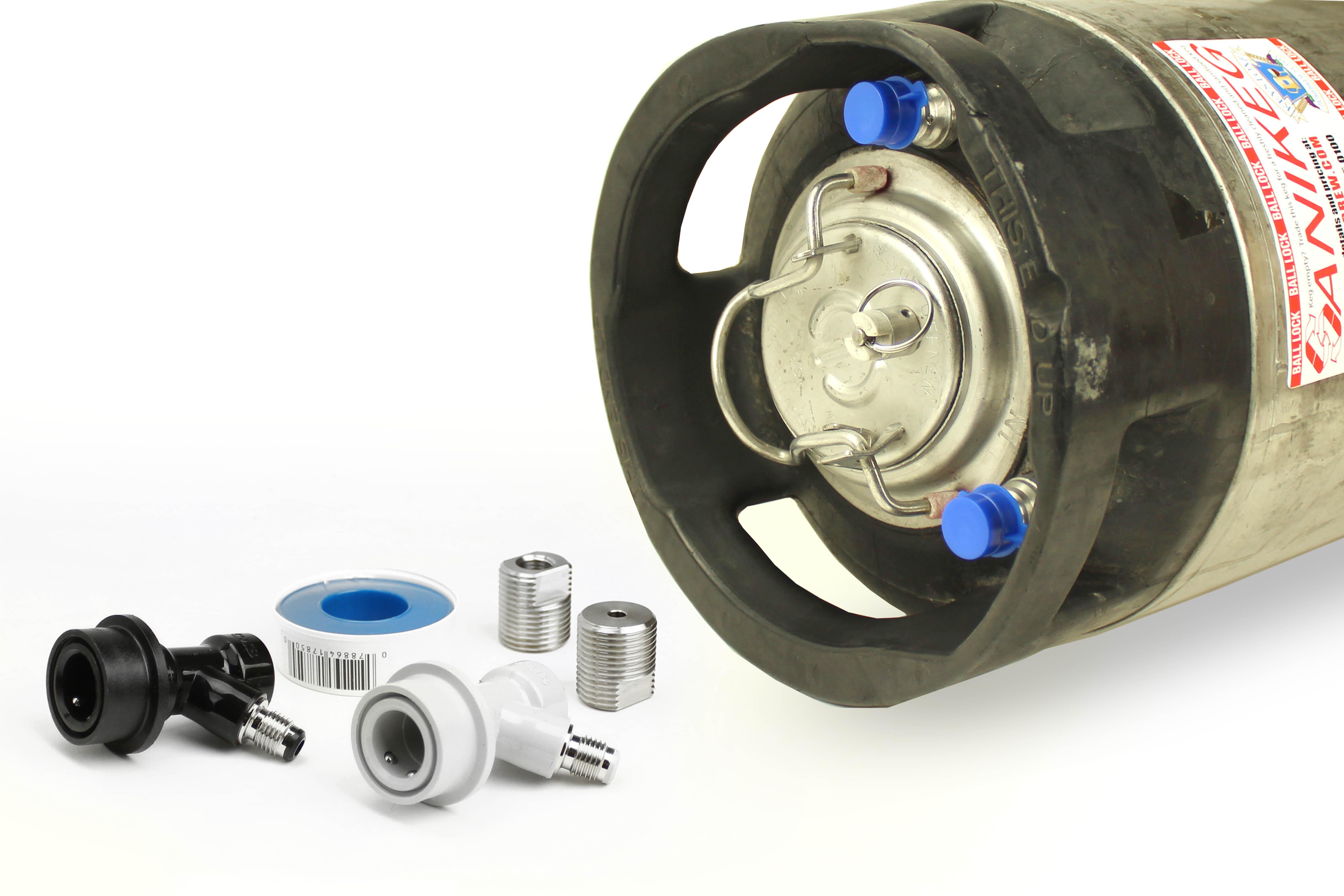 Kegerator Conversion:Ball Lock Keg (1)
