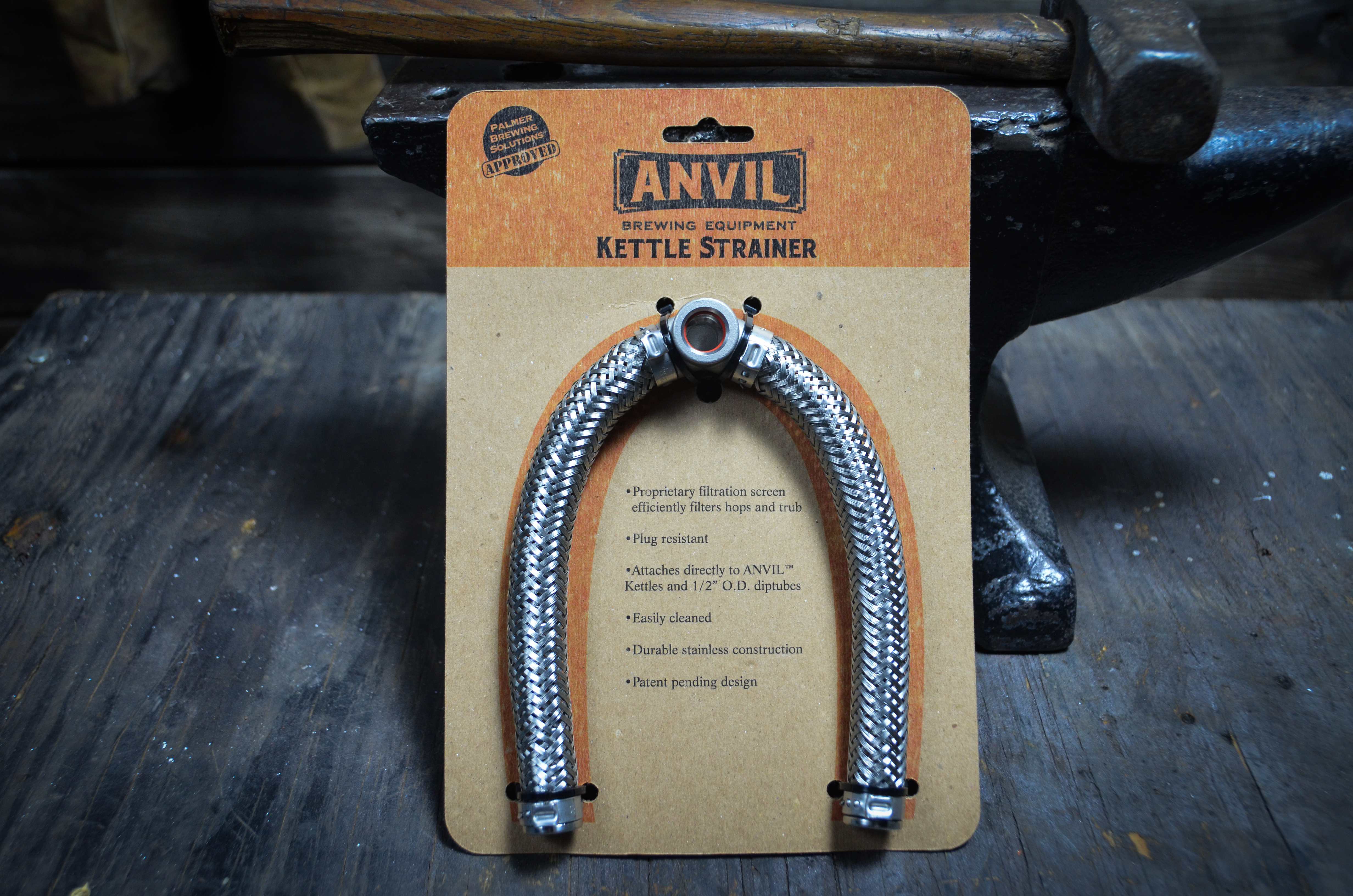 Anvil Brew Kettle:Strainer/Filtration (1)
