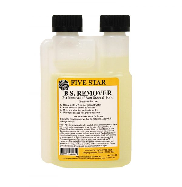 Beer Stone:Remover 8oz (1)