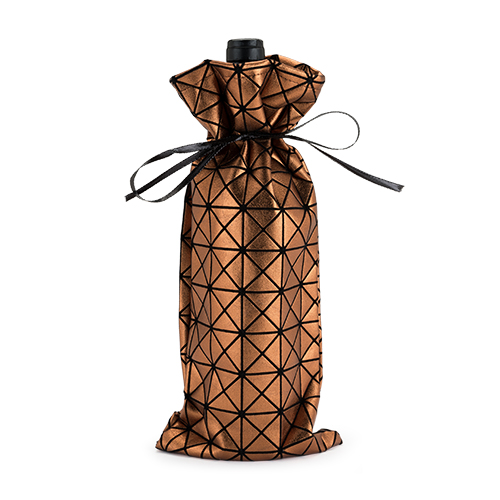 Copper Geo Sack:Bottle Gift Bag (1)