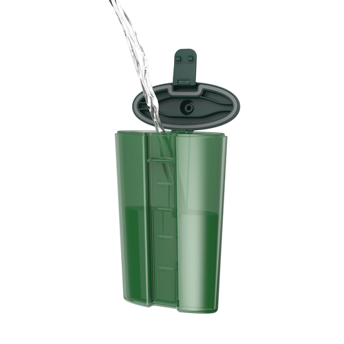 Easy-Fill Flask:6oz Green (1)