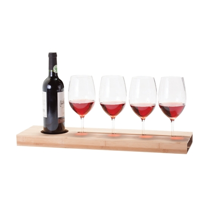 Greenophile Tray:4 Glass 1 Bottle (1)