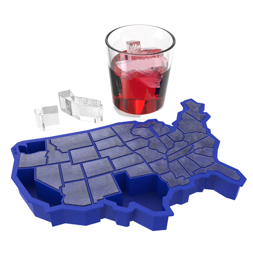 U. Ice of A.:Cube Tray Blue (1)