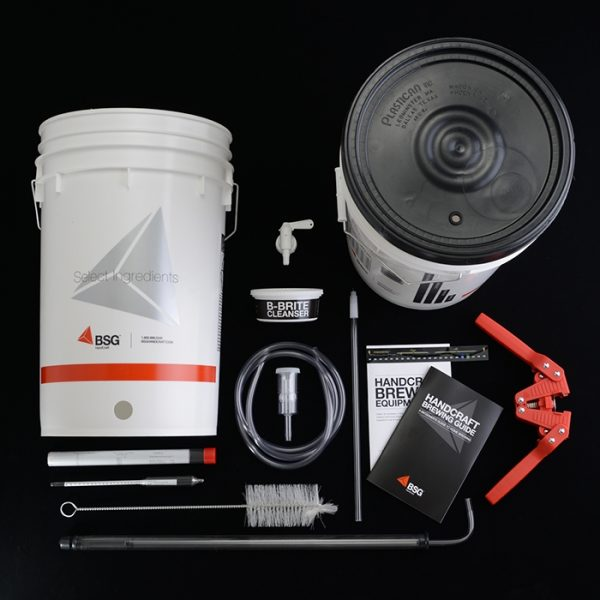 Homebrew Starter Beer Equipment Kit with Kettle-0