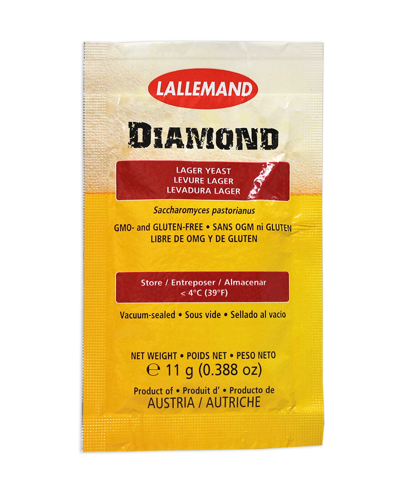 Lallemand Diamond:Lager Beer Yeast (1)