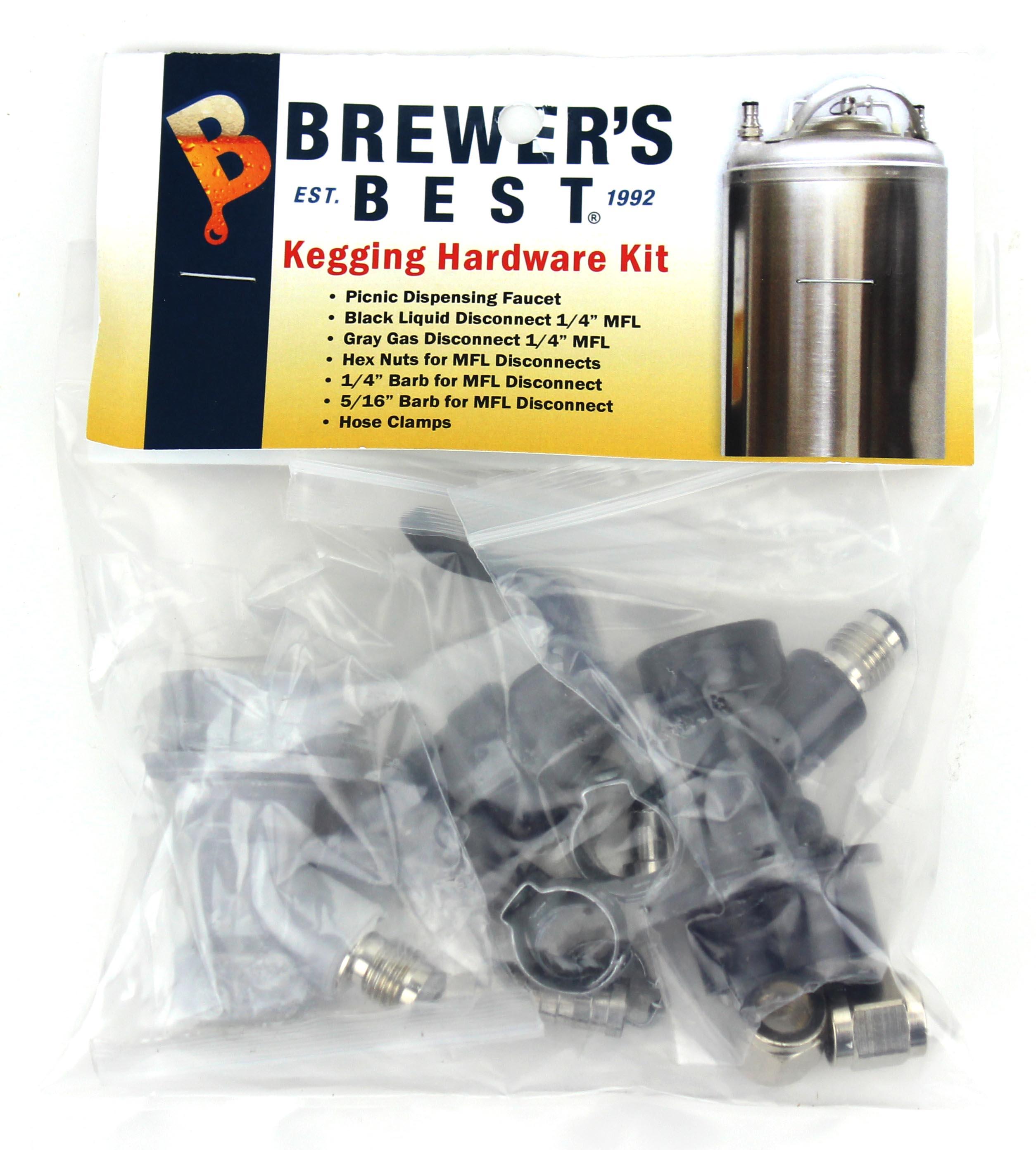 Kegging Hardware Kit:Ball Lock Keg (1)