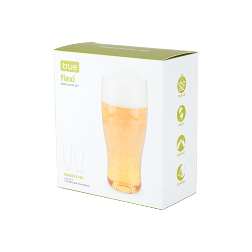 Flexible Silicone:Beer 20oz 2pk (2)