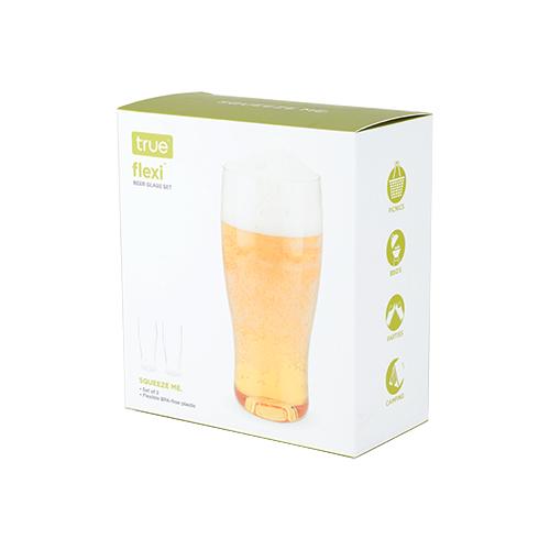 Flexible Silicone:Beer 20oz 2pk (2)