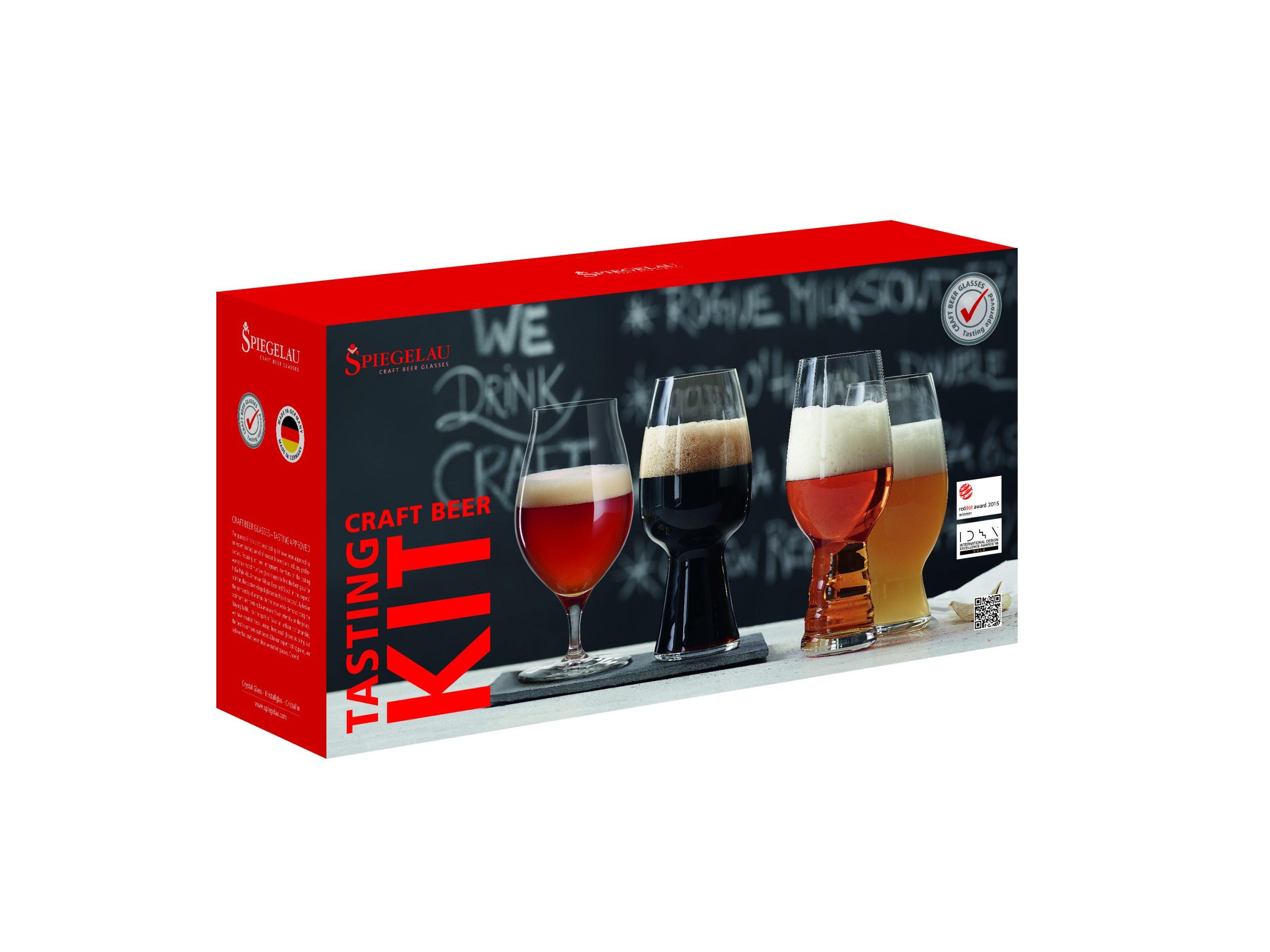 Spiegelau Craft Beer:Tasting 4pk Sampler (1)
