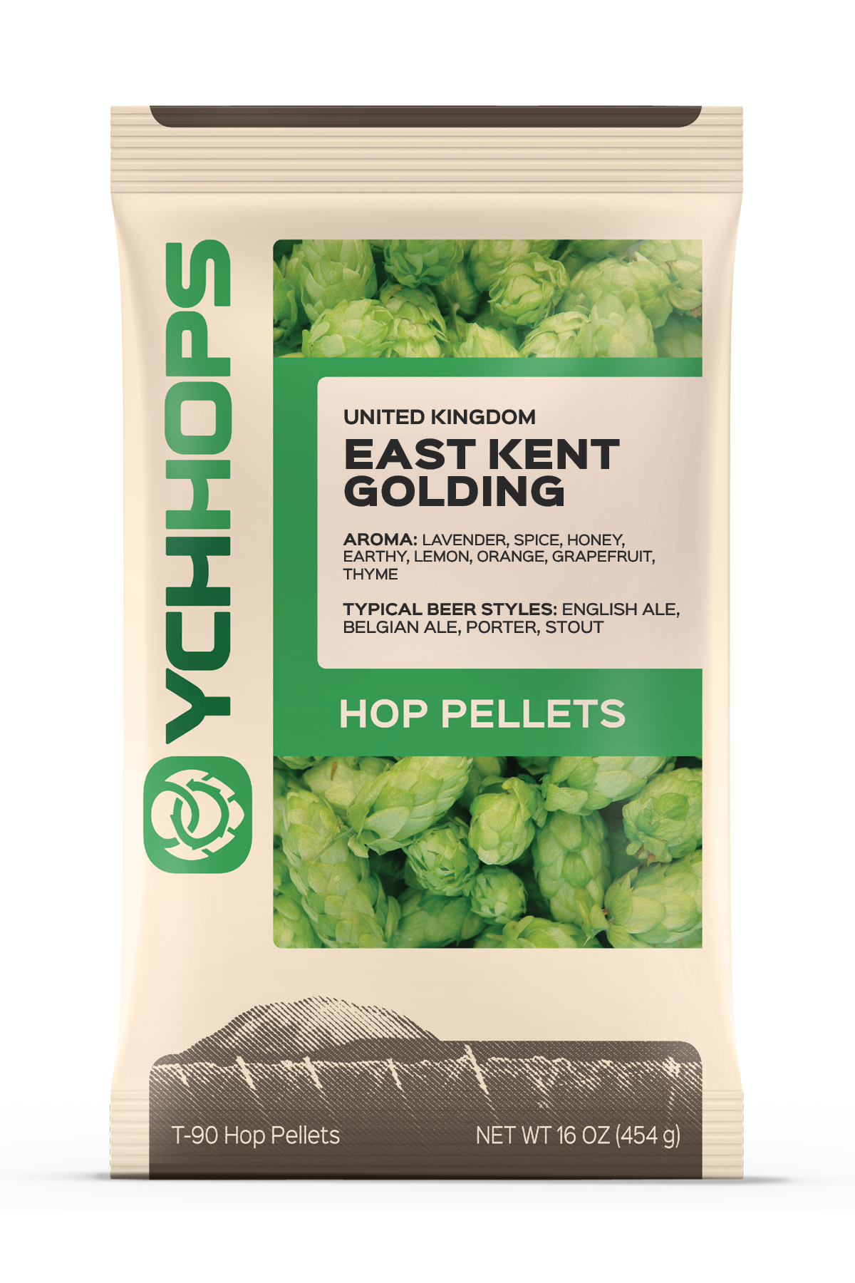 UK Kent Goldings:1lb Pellet (1)